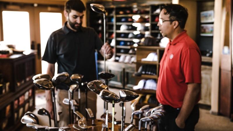 Pro shop golf club