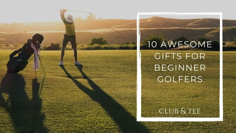 gift guide with the best gifts for beginner golfers