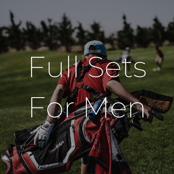 golf clubs men - Full Sets of Golf Clubs