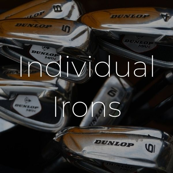 individual irons - Irons & wedges