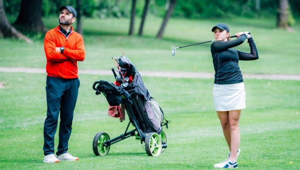 Are Portable Launch Monitors Worth it? when having golf lessones