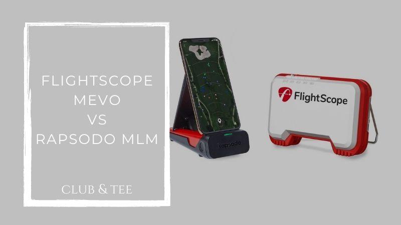 flightscope mevo vs rapsodo mlm
