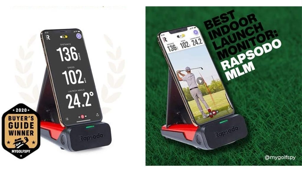 Rapsodo mobile launch monitor have real-time video feedback