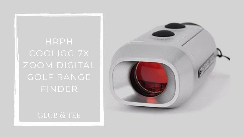 Hrph cooligg 7x zoom digital golf range finder
