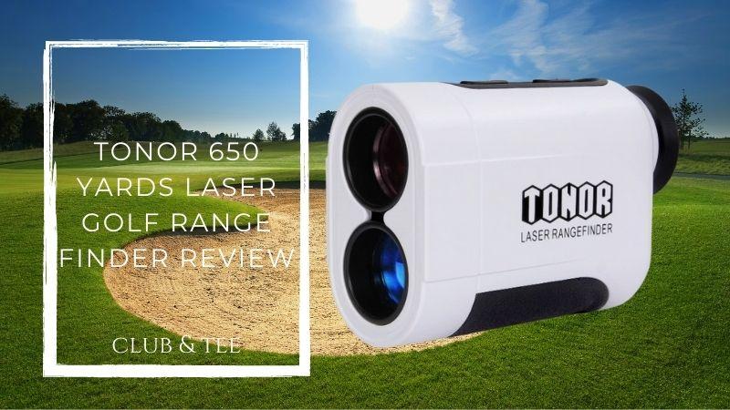 Tonor 650 yards laser golf range finder review